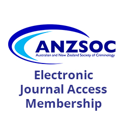 ANZSOC Membership - Electronic Journal Access